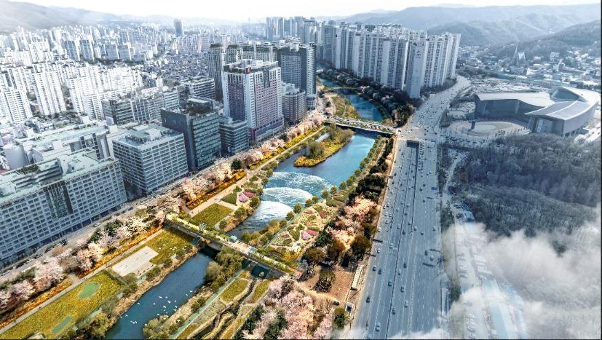 2023년 힐링공원으로 재탄생될 탄천백현보모습.jpg
